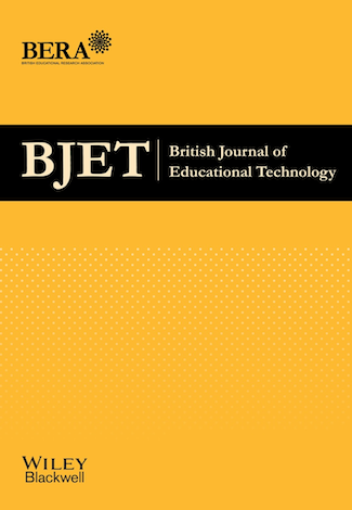 Logo for British Journal of Educational Technology