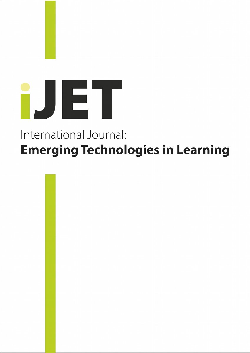 Logo for International Journal of Emerging Technologies in Learning (iJET)