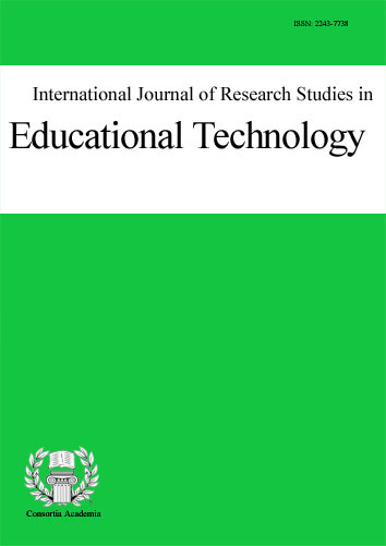 Logo for International Journal of Research Studies in Educational Technology