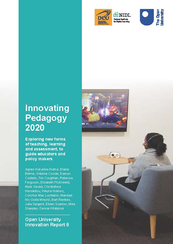Logo for Innovating Pedagogy 2020: Open University Innovation Report 8