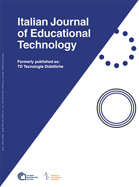 Logo for Italian Journal of Educational Technology