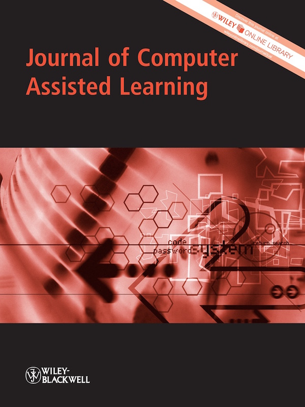 Logo for Journal of Computer Assisted Learning