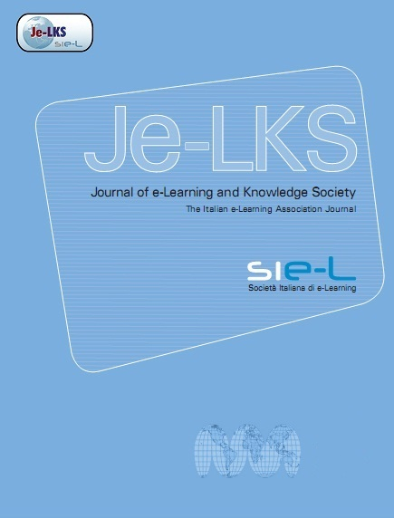 Logo for Journal of e-Learning and Knowledge Society